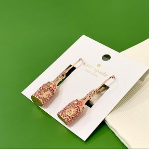 Kate Spade | Make Magic Rosé Champagne Earrings